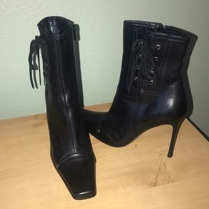 Worn a few times, Casadei Leather Black Boots